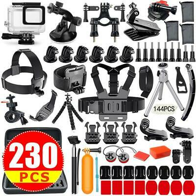 For GoPro Hero 7 6 5 4 3 Accessories Kit Action Camera Mount Accessory Bundle