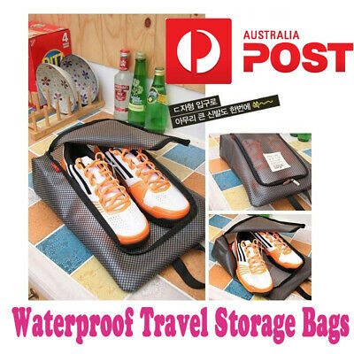 Waterproof Travel Storage Bags Packing Cube Luggage Organizer Pouch Utility AU