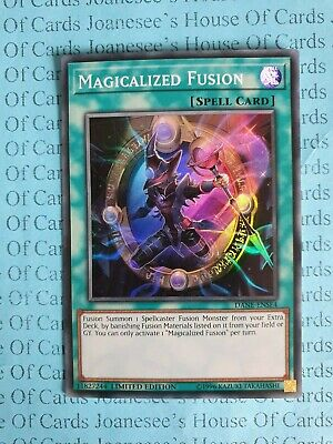 Magicalized Fusion DANE-ENSE4 Super Rare Yu-Gi-Oh Card Limited Edition New