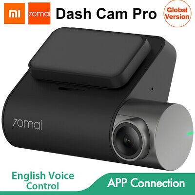Original Xiaomi 70mai Dash Cam Pro 1944P G-Sensor Voice Control Car DVR Camera