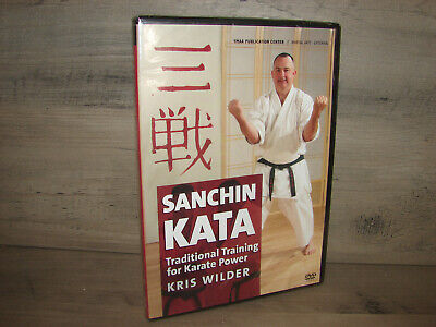 Sanchin Kata: Traditional Training for Karate Power (DVD, 2010)  **NEW**