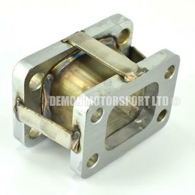 T2 to T3 Turbo to Exhaust Manifold Conversion Adapter Flange Steel