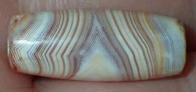 23.5mm Ancient Very Rare SOLOMON'S, Sulemani Agate Bead 3000+ Years Old, #MC108
