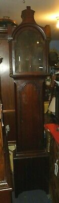 Antique Grandfather Clock Case To Fit 12ins By 18ins Dial