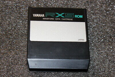 Yamaha Rx5 ROM Waveform Data Cartridge