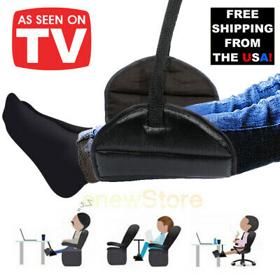 Travel Airplane Hanger Footrest Hammock Made Memory Foam Flight Leg Pillow