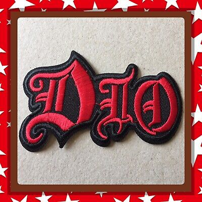 🇨🇦 DIO Heavy Metal Trash Embroidered Patch  Sew On/stick On Clothing/new 🇨🇦