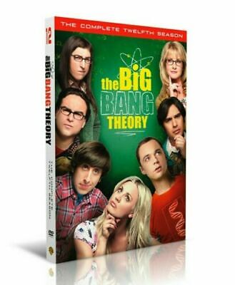 The Big Bang Theory Season 12 Twelve The Complete DVD Set New Sealed Ships Free
