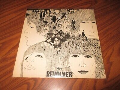 The Beatles Revolver [LP] (Vinyl, 1966 Apple) German Import