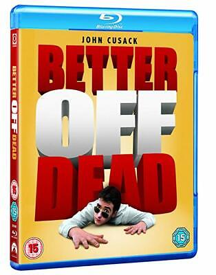 BETTER OFF DEAD (1985) John Cusack Blu-Ray BRAND NEW Free Ship