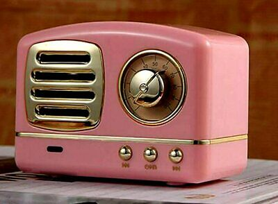 Time Traveler retro Pink Machine loaded with 10,000+ OTR programs with Bluetooth