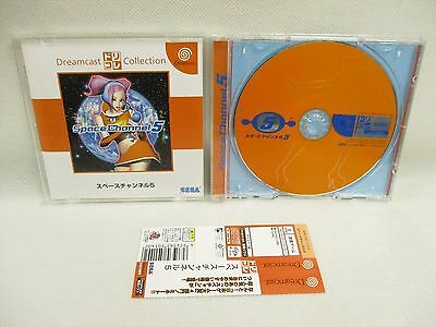 Space Channel 5 Dc Collection con Spina Card * Sega Dreamcast Giappone Dc