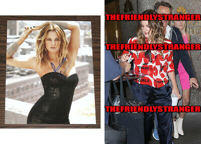 DREW BARRYMORE signed Autographed 8X10 PHOTO - PROOF - SEXY Charlie's Angels COA