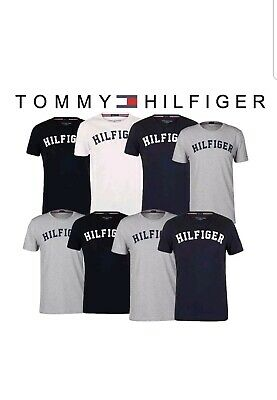 Tommy Hilfiger  Cotton Crew Neck Mens Short Sleeve T Shirt