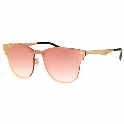 84c257a0c7 Ray-Ban RB3576N 043/E4 47mm Rosa Gold Spiegel Wayfarer Clubmaster  Sonnenbrille