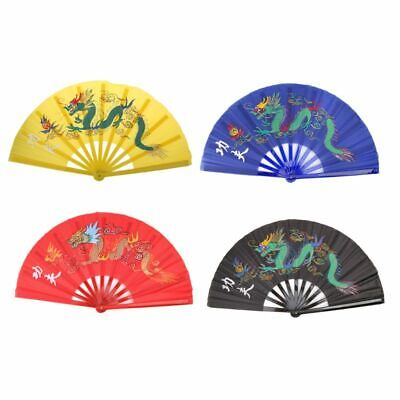 FOLDING CHINESE KUNG Fu Fan Tai Chi Fan Bamboo Dance Stage