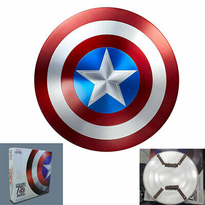 IN STOCK Marvel Captain America 75th Anniversary Avengers Shield Alloy Metal New