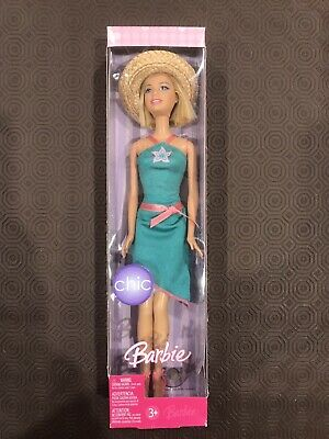 BARBIE Dolls Chic 2006 Mattel Unboxed New Never Played With