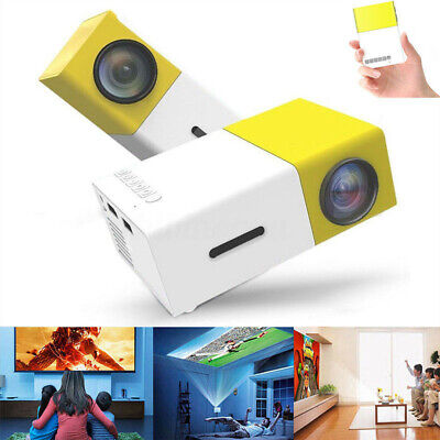 Mini YG300 LCD Support Portable Projector Home Theater Cinema Media Player  NEW