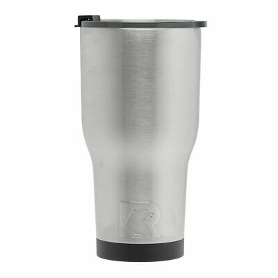 RTIC (191) Double Wall Vacuum Insulated Tumbler, 30 oz, Stainless Steel