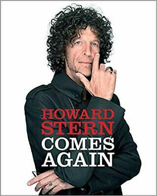 Howard Stern Comes Again Hardcover – May 14, 2019 - FREE SHIPPING