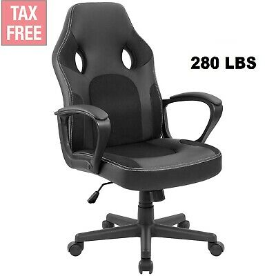 Big and Tall High Back Executive Leather Office Computer Desk Heavy Duty Chair