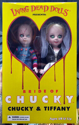 CHUCKY LIVING DEAD Dolls The Exorcist 14cm high figure child's play