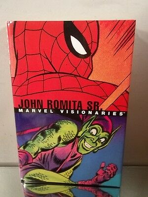 Marvel Visionaries John Romita Sr. Hard Cover Book~