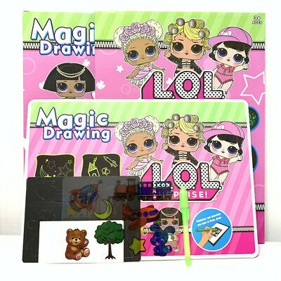 Draw With Light Fun Developing Toy Drawing Board Creative Magic Painting Toys