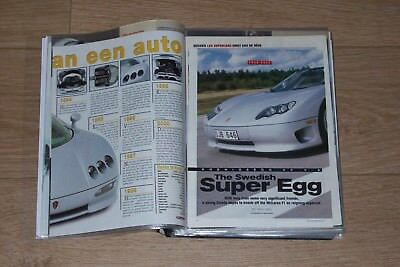 Collection of 38 road tests / magazine articles Koenigsegg 2000 -  2015