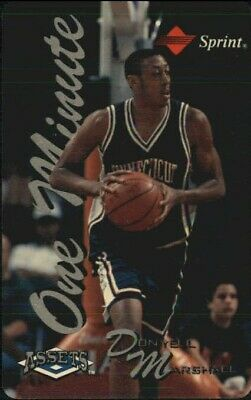 1994-95 Assets Phone Cards One Minute/$2  #13 Donyell Marshall