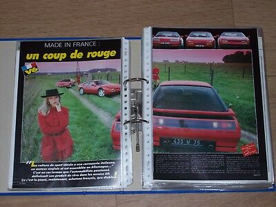 Collection of 90+ road tests / magazine articles Venturi 1987 -  2007