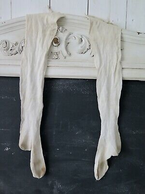 French antique 1920s Children Stockings Antik Kinder Strümpfe Shabby french