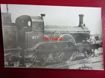 Photo  Darkroom - Gnr Loco No 817 Great Northern Railway