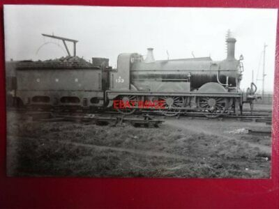 Photo  Darkroom - Gnr Loco No 133A At Bashford - Great Northern Railway