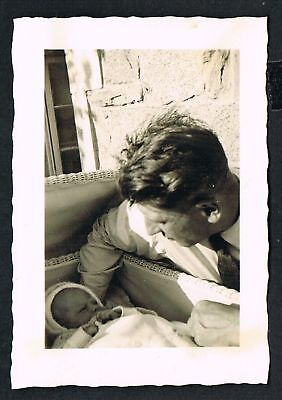 FOTO vintage PHOTO, Vater mit Tochter, father with daughter, /134