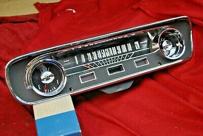 65 Mustang  Show Quality Instrument Cluster, Rebuilt And Tested Completely