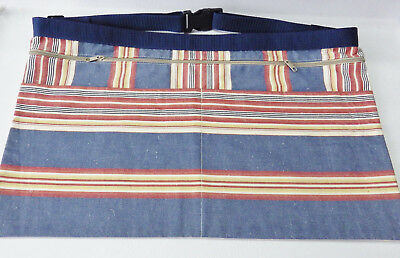 3 Pocket Market Trader Money Belt Bag/Craft /Gardening Apron Adjustable Size (I)