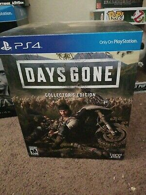 days gone collectors edition statue is brand new!