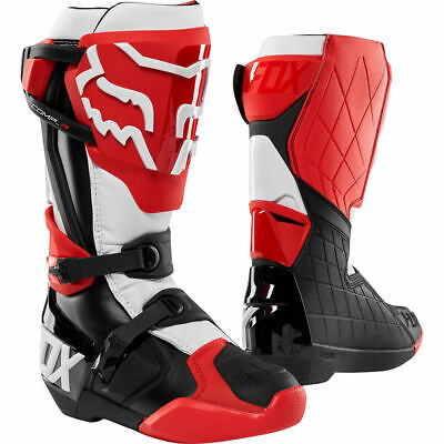FOX Comp R Boots Red-White-Black Motocross Mx Off Road Boot Sale