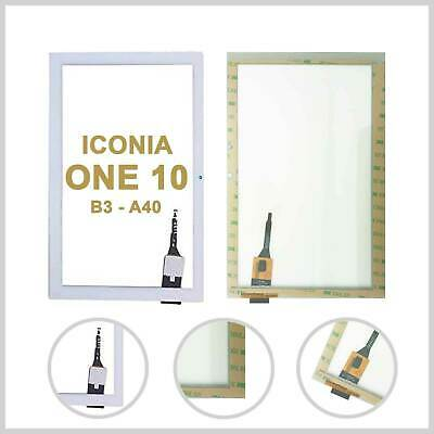 For Acer Iconia One 10 B3 - A40 Digitizer Touch Screen Glass Lens White + Tools