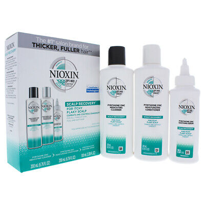Scalp Recovery Kit by Nioxin for Unisex - 3 x 6.8 oz Moisturizing Conditioner.