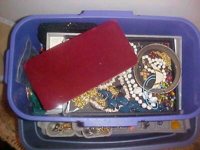 Vintage Jewelry Lot-Wearable-Resale-Estate Items 15 Piece-ALL GOOD