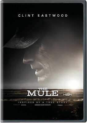 THE MULE (2019,NEW SEALED,DVD,RELEASE) ACTION BASED ON A TRUE STORY Ships Free