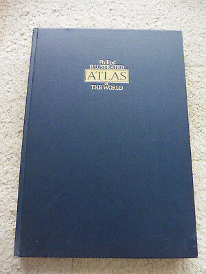 Philips' Illustrated Atlas Of The World, 1980 Edition.