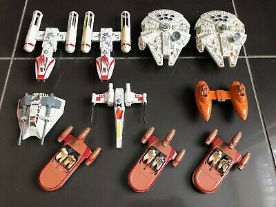 Vintage Star Wars Job Lot of Good Original Die Cast Vehicles 1978 -1980 X 10