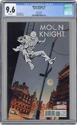 Moon Knight (5th Series) #7B 2014 Shalvey 1:25 Variant CGC 9.6 2020720010