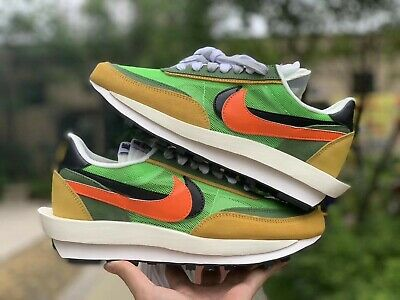 New Nike Green Yellow x LD Waffle Sacai Multiple Men's Sizes Available 7-11