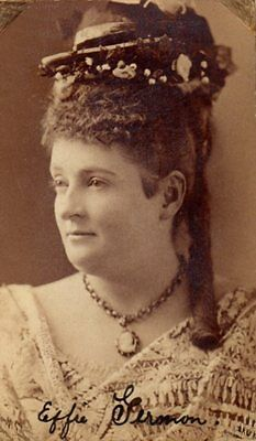 *john Wilkes Booth: Effie Germon Unusual 1868 Cabinet Photo Possible Autograph*