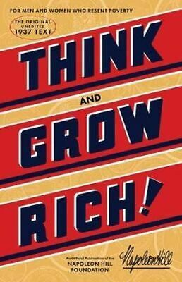 NEW Think and Grow Rich By Napoleon Hill Paperback Free Shipping